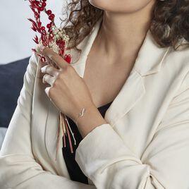 Bracelet Maryeme Infini Glitter Or Jaune - Bracelets Infini Femme   Histoire d'Or