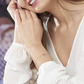 Bracelet Absolu Or Bicolore Et Diamants - Bijoux Femme | Histoire d'Or