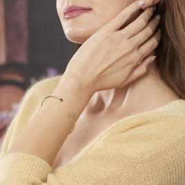 Bracelet Jonc Ileana Or Jaune - Bracelets joncs Femme | Histoire d'Or