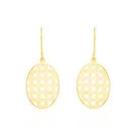 Boucles D'oreilles Pendantes Heba Or Jaune - Boucles d'oreilles pendantes Femme   Histoire d'Or