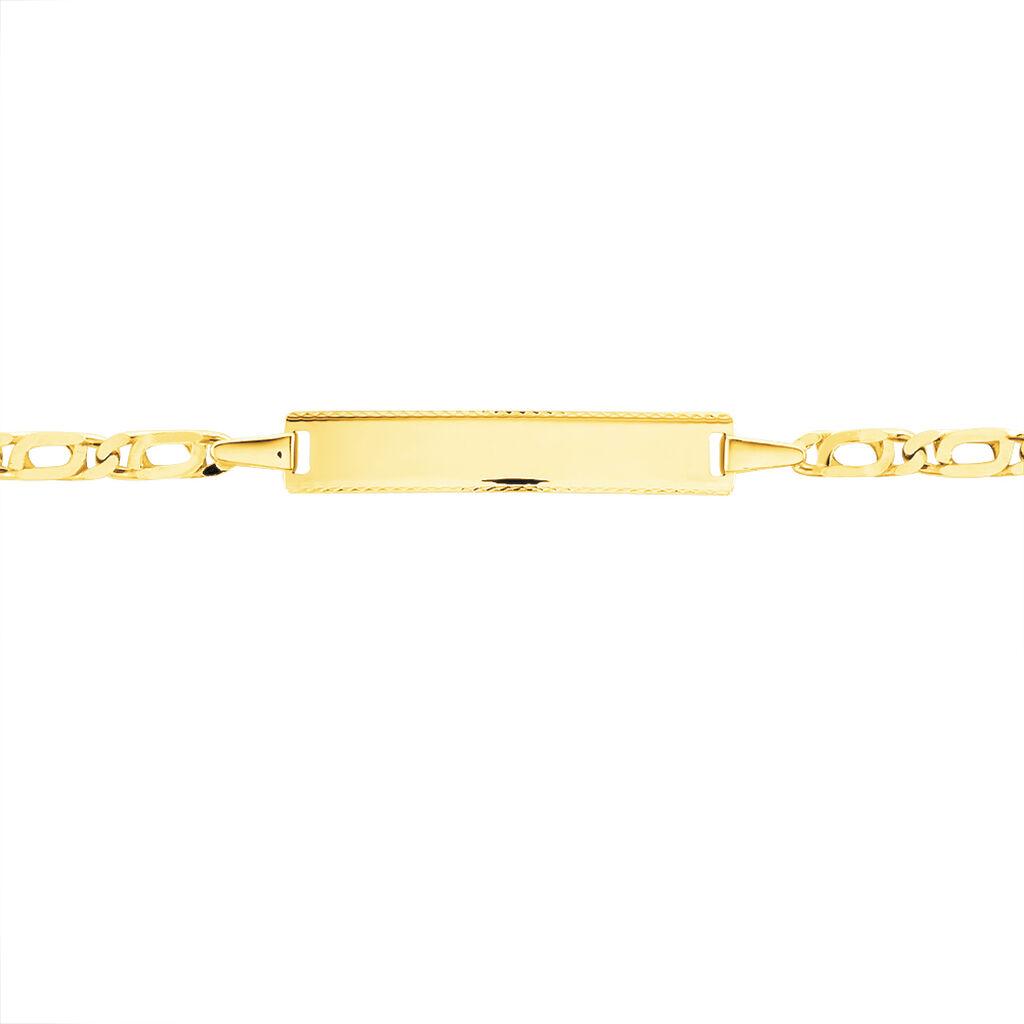 Bracelet Identité Evi Or Jaune - Bracelets Communion Enfant | Histoire d'Or