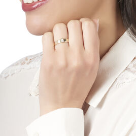 Bague Nessie Or Jaune Diamant - Bagues avec pierre Femme | Histoire d'Or