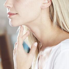 Boucles D'oreilles Pendantes Isabella Or Jaune - Boucles d'oreilles pendantes Femme | Histoire d'Or