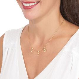 Charms Leidy Or Jaune Oxyde De Zirconium - Charms Femme | Histoire d'Or