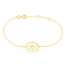 Bracelet Thalina Or Jaune Oxyde De Zirconium - Bijoux Etoile Femme | Histoire d'Or