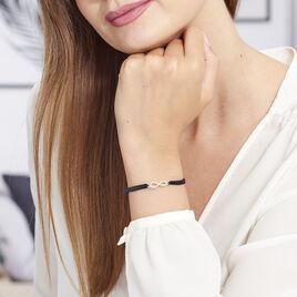 Bracelet Clelia Argent Blanc Oxyde De Zirconium - Bracelets Infini Femme | Histoire d'Or