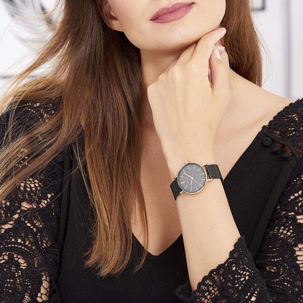 Montre Codhor Cindy Noir - Montres Femme   Histoire d'Or