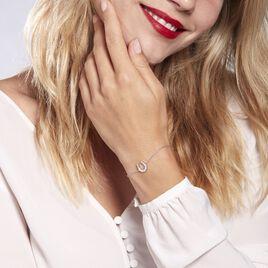 Bracelet Argent Rhodié Centaures  Oxyde - Bracelets fantaisie Femme | Histoire d'Or