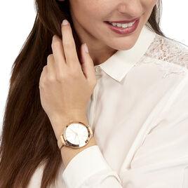 Montre Michael Kors Slim Runway Blanc - Montres tendances Femme   Histoire d'Or