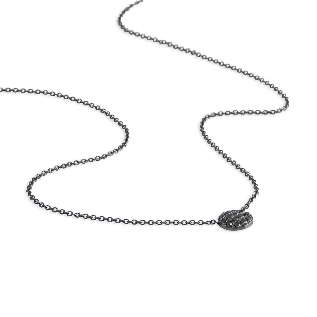 Collier Teani Or Blanc Diamant - Bijoux Femme   Histoire d'Or