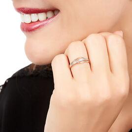 Bague Solena Or Rose Diamant - Bagues avec pierre Femme | Histoire d'Or