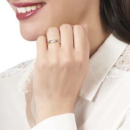 Bague Melly Or Jaune Diamant - Bagues Croix Femme | Histoire d'Or