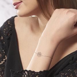 Bracelet Mely Argent Blanc - Bracelets Arbre de vie Femme | Histoire d'Or