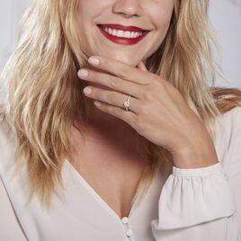 Bague Urbane 0 Blanc Diamant - Bagues solitaires Femme | Histoire d'Or