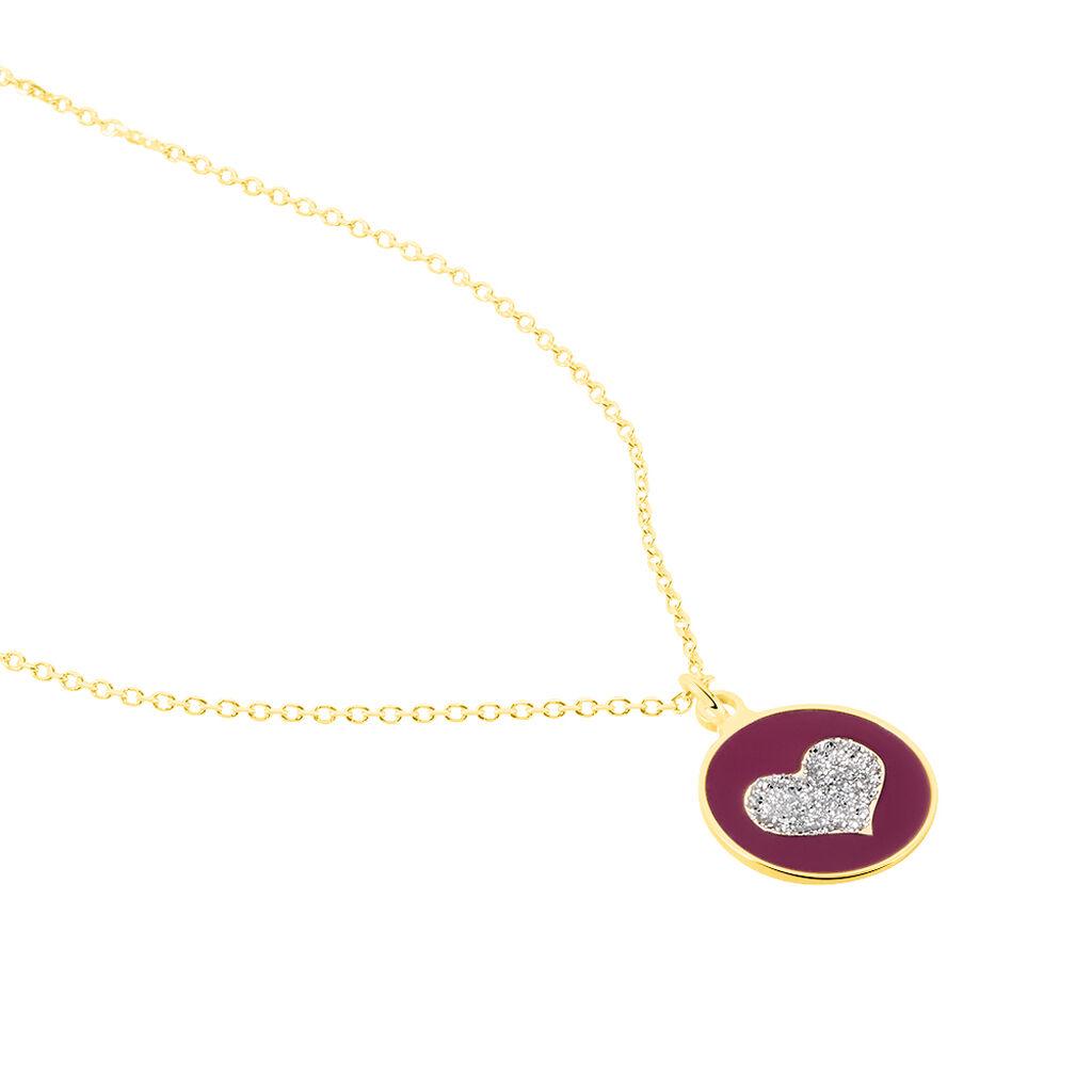Collier Chlea Coeur Or Jaune - Colliers Coeur Enfant | Histoire d'Or