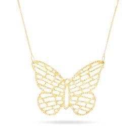 Collier Smahan Or Jaune - Colliers Papillon Femme | Histoire d'Or