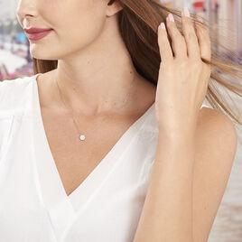 Collier Swanny Argent Blanc Oxyde De Zirconium - Colliers fantaisie Femme | Histoire d'Or