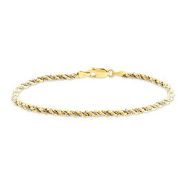 Bracelet Charlerine Or Bicolore - Bracelets chaîne Femme | Histoire d'Or