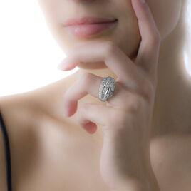 Bague Kayrianna Argent Blanc Oxyde De Zirconium - Bagues avec pierre Femme | Histoire d'Or
