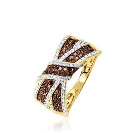 Bague Agnes Or Jaune Diamant - Bagues avec pierre Femme | Histoire d'Or