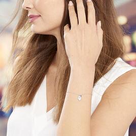 Bracelet Argent Rhodie Oxydes - Bracelets Main de Fatma Femme | Histoire d'Or
