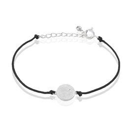 Bracelet Zahide Argent Blanc Oxyde De Zirconium - Bracelets cordon Femme | Histoire d'Or