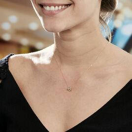 Collier Volcania Or Jaune Diamant - Bijoux Femme | Histoire d'Or