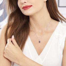 Collier Sara-luna Argent Blanc Perle De Culture Et Oxyde De Zirconium - Colliers fantaisie Femme | Histoire d'Or
