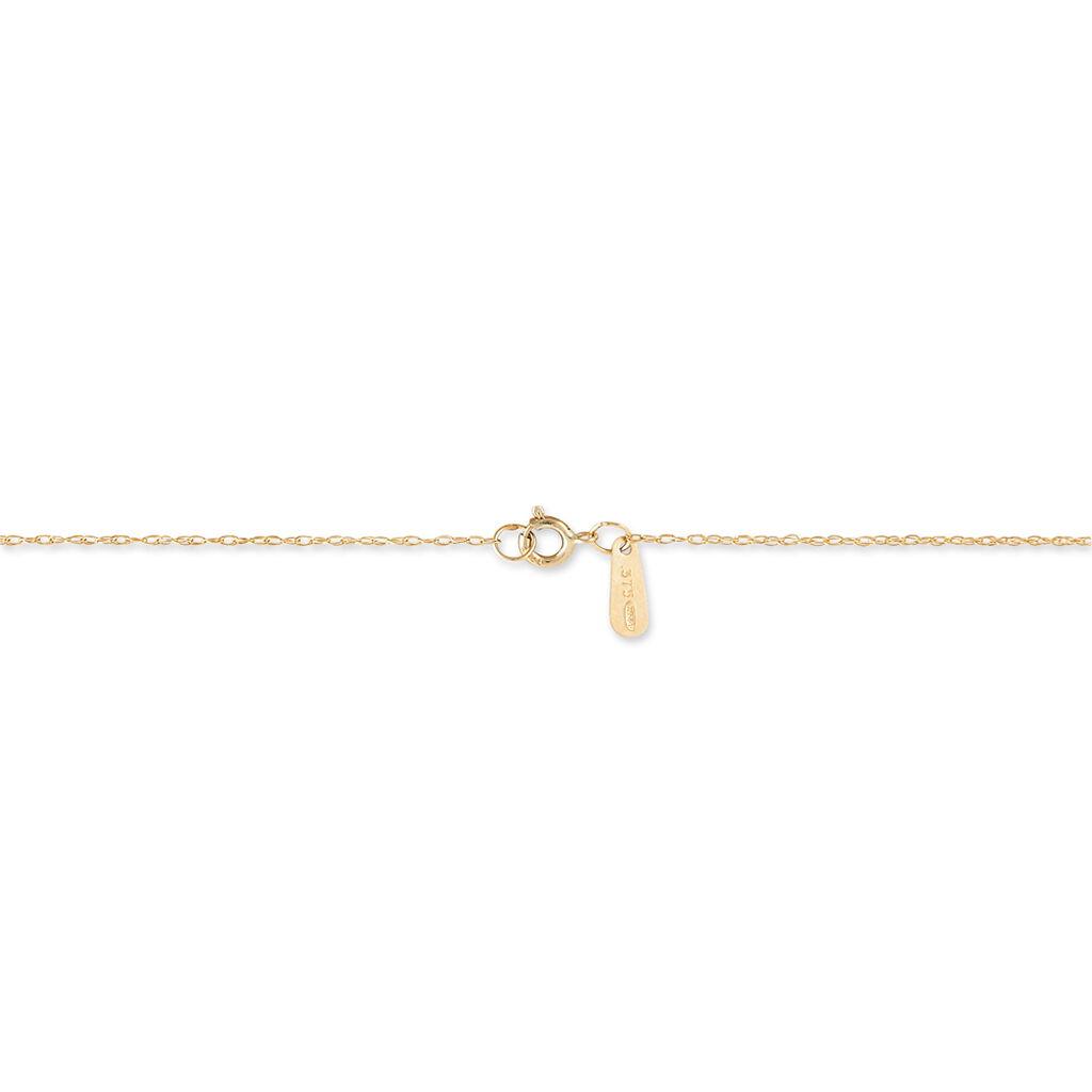 Collier Goutte Or Jaune Amethyste - Bijoux Femme | Histoire d'Or