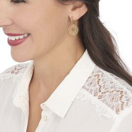 Boucles D'oreilles Pendantes Florent Or Jaune - Boucles d'oreilles pendantes Femme   Histoire d'Or