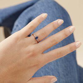 Bague Marie Or Blanc Saphir Et Diamant - Bagues solitaires Femme | Histoire d'Or