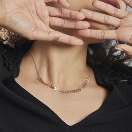 Collier Plaqué Or Jaune Jay - Colliers Plume Femme | Histoire d'Or