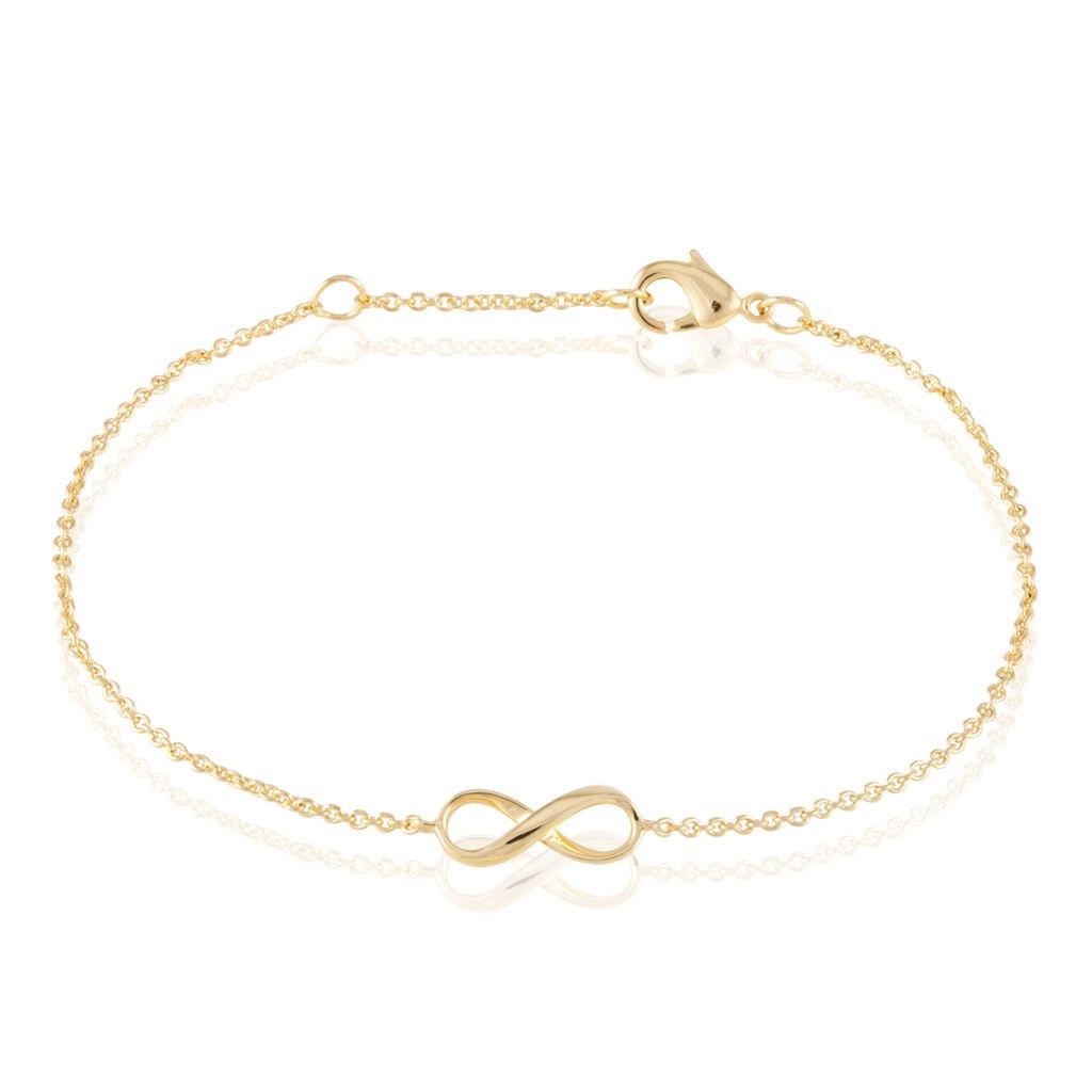 Bracelet Ajna Plaque Or Jaune - Bracelets Infini Femme | Histoire d'Or
