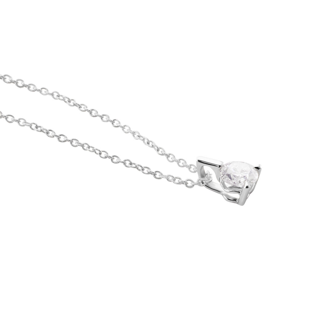Collier Gianna Or Blanc Diamant - Bijoux Femme | Histoire d'Or