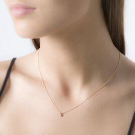 Collier Siline Or Jaune Diamant - Bijoux Femme   Histoire d'Or