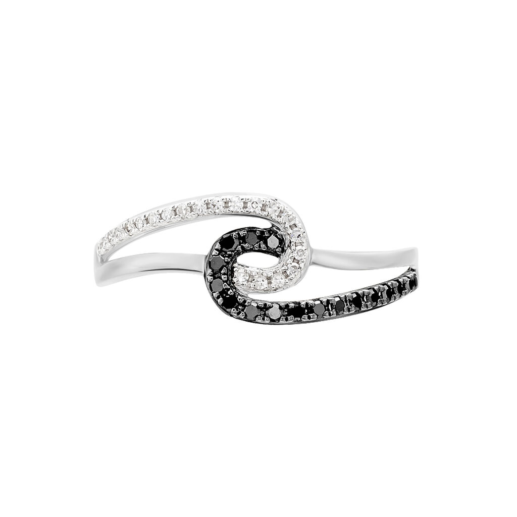 Bague Loriana Or Blanc Diamant