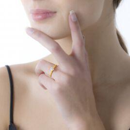 Bague Solitaire Samantha Or Jaune Diamant - Bagues solitaires Femme   Histoire d'Or