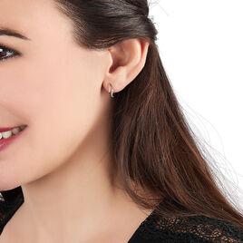 Boucles D'oreilles Puces Callum Or Jaune Diamant - Boucles d'oreilles pendantes Femme | Histoire d'Or