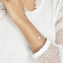 Bracelet Pluton Argent Blanc Oxyde De Zirconium - Bracelets fantaisie Femme | Histoire d'Or