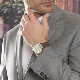 Montre Tommy Hilfiger Th Essentials Beige - Montres classiques Homme | Histoire d'Or