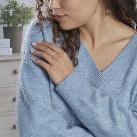 Bague Solitaire Or Blanc Diamant - Bagues solitaires Femme | Histoire d'Or