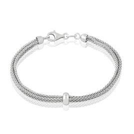 Bracelet Cefora Argent Blanc - Bracelets fantaisie Femme   Histoire d'Or
