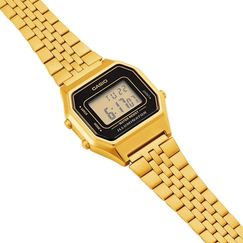 Montre Casio Collection Vintage Champagne