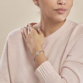 Bracelet Lao Argent Blanc - Bracelets Arbre de vie Femme   Histoire d'Or