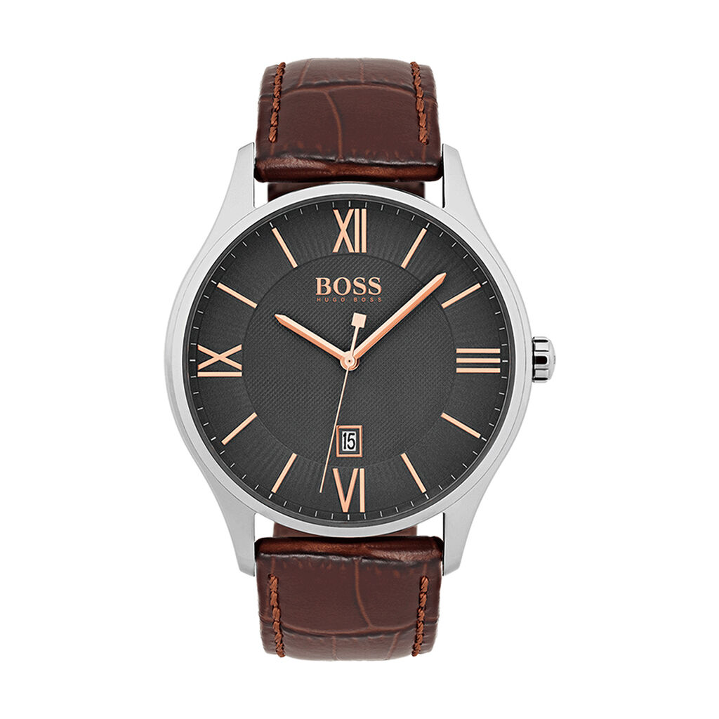 Montre Boss Governor Gris