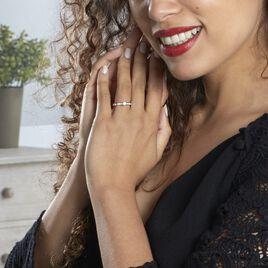 Bague Solitaire Anastasiane Or Blanc Diamant - Bagues solitaires Femme   Histoire d'Or