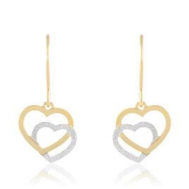 Boucles D'oreilles Or - Boucles d'Oreilles Coeur Femme   Histoire d'Or