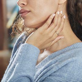 Bague Or Tricolore Vanadis Diamants - Bagues avec pierre Femme   Histoire d'Or