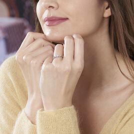 Bague Solitaire Celina Or Blanc Diamant - Bagues solitaires Femme   Histoire d'Or