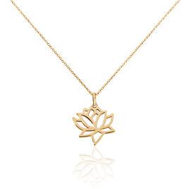 Collier Fuji Plaque Or Jaune - Colliers fantaisie Femme | Histoire d'Or